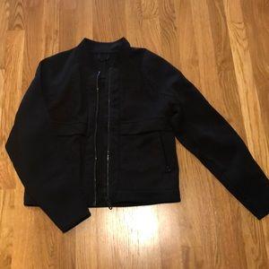 Black Lululemon Bomber Jacket